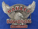 HARLEY DAVIDSON MOTORCYCLES Eagle Bikers Belt Buckle