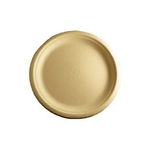 "World Centric's 100% Biodegradable, 100% Compostable Bagasse 10"" Plates (Package of 200)"