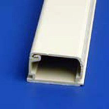Cable Raceway 1 1/4 Inch X 3/4 Inch X 6 Foot Ivory-By-Hellermann Tyton