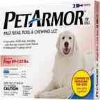 Petarmor for Dogs 89-132 Lbs. 3 Pipettes, My Pet Supplies