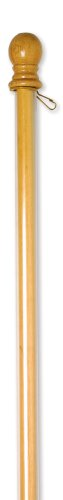 Evergreen Wood Pole with Anti-Wrap Tube, 56 inches