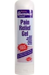 Concept Laboratories Glucosamine Pain Relief Gel Value Pack - 2 Bottles Net Wt. 9 Oz Each
