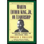 img - for Martin Luther King, Jr on Leadership - Inspiration & Wisdom for Challenging Times (99) by Phillips, Donald T [Paperback (2000)] book / textbook / text book