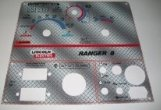 Lincoln Arc Welder Control Plate Ranger 8 Diamond Plate by The Decal Shoppe, LLC