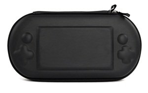 Bluecell Controller pattern protection hard case/bag with carrying strap for Sony Playstation Vita + Free Bluecell LCD Cloth