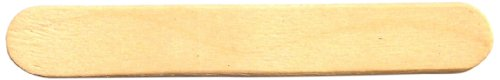 "Perfect Stix Craft PS63 Birchwood Straight Edge Mini Stick, 2-1/2"" Length (Pack of 1,000)"
