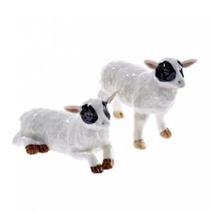 At home in the country - Sheep Salt and Pepper Set by At home in the country