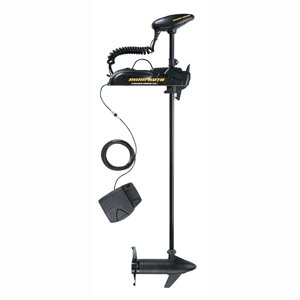 Minn Kota Powerdrive V2 55 Freshwater Bow-Mount Trolling Motor with Foot Control and Autopilot (55-lb Thrust, 54