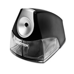 ** Compact Desktop Electric Pencil Sharpener, Black