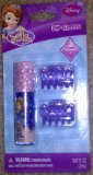 Disney Sofia The 1st Lip Gloss Grape Flavor and 2 Hair Clips