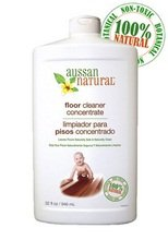 Aussan Natural Floor Cleaner Concentrate, 32 Ounce -- 6 per case. (Aussan Natural compare prices)
