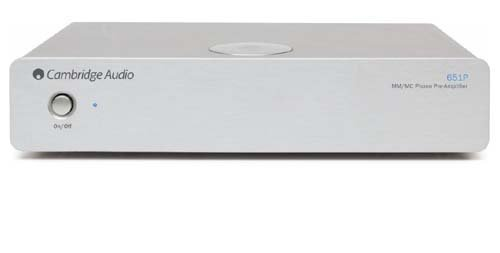 Cambridge - Azur 651P MM/MC Preamp (Silver)