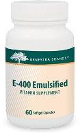 E400 Emulsified (60 Caps) Genestra Brand: Genestra