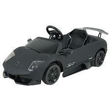 Dexton Kids Lamborghini Murcielago Ride-On Car BLACK