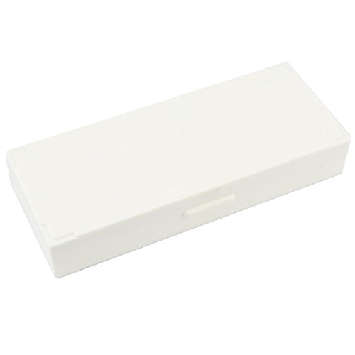Beige Plastic Covered Microscope Glass Case Slide Box For 50 Slides