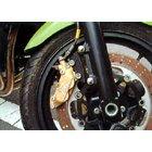 アクティブ(ACTIVE) フロントキャリパーサポート/シルバー brembo 40mm&スタンダードローター対応 【バリオス('91-'03)】 1471003S