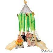 Safari Canopy Play Tent with Plush Animals by Bunco Game Shop günstig kaufen