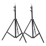 Neewer® Set of Two 9 feet (260CM) Photo Studio Light Stands for Video, Portrait, and Product Photography