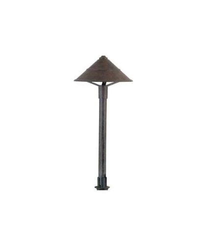 Hubbell Lighting Co-Ab Led Decorative Cone Lightscaper Fixture, Antique Bronze Finish