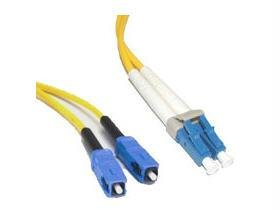 C2G / Cables To Go 37471 Lc/Sc Duplex 9/125 Single-Mode Fiber Patch Cable (15 Meter, Yellow)