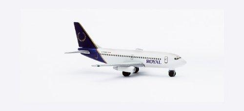 Herpa Wings B737-200 Royal Airlines Model Airplane