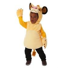 Disney Store Simba The Lion King Plush Halloween Costume For Boys: Toddler Size 12-18 Months front-914457