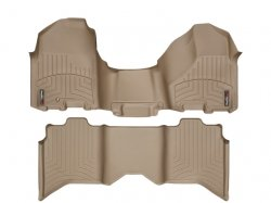 img View detail Weathertech 453281-452163 Front and Rear Floorliners-Over The Hump from amazon.com