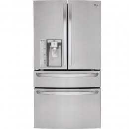 LG LMXS30786S French Door Refrigerator with 29.9 cu. ft. Total Capacity, in Stainless Steel