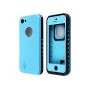 Redpepper Case Ultra-Thin Waterproof Case w/ Speaker Protective Design for IPHONE 5C - Blue + Black Blue + Black