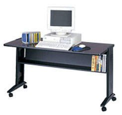 Buy Low Price Comfortable Safco® Mobile Computer Desk with Reversible Top (B001CLKZZ6)