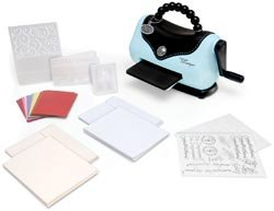 Sizzix Texture Boutique Embossing Machine Beginner'S Kit Beginners