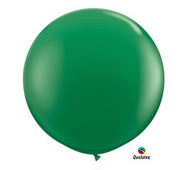 Green 3ft Qualatex Latex Giant Balloon