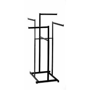 black-4-way-high-capacity-clothing-rack