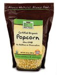 NOW Foods Organic Popcorn, 24 oz