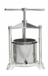 Fruit Press - Italian, 3 Liter, Stainless Steel