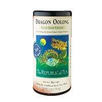 REPUBLIC OF TEA Dragon Oolong Tea (36 Natural, Unbleached Tea Bags)