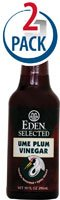 Eden Foods Selected Ume Plum Vinegar -- 10 fl oz Each / Pack of 2