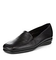 Footglove™ Leather Slip-On Loafers