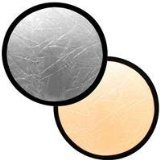 Interfit INT246 Collapsible 12-Inch Reflector (Silver/Gold)