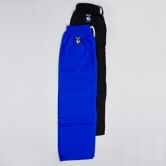 Blitz Sport Adult Cotton Student Judo Pants 7/200cm Blue