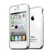 【国内正規代理店品】SPIGEN SGP iPhone4/4S ケース リニア EX カラーシリーズ [サテンシルバー] 【SGP08368】
