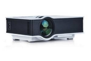 VOX VP-02 Hdmi Hd Led Projector Home Cinema Theater (White)