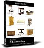 Dosch 3D: Antique Furniture front-857785