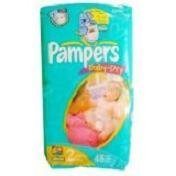 Pampers Baby Dry Diapers Jumbo Pack, Size 2, 48 Count