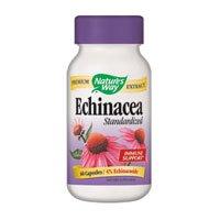 Natures Way Echinacea Standardized Capsule - 60 Per Pack -- 3 Packs Per Case.