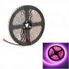 Hl 48W 1200Lm 380Nm 600-Smd 3528 Led Pink Light Flexible Light Strip - Black + White (500Cm / 12V)