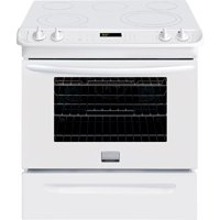 Electric Stove With Convection Oven back-23591