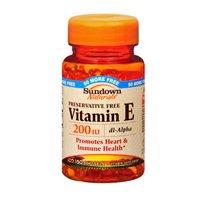 Sundown Naturals Sundown Naturals Vitamin E Dl Alpha, 150 Capsules 200 Iu(Pack Of 2)