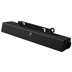 Dell AX510PA Entry Flat Panel Stereo Sound Bar with with Power Adapter