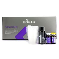 Skin Medica Vitalize Peel Multi Pack: Prepping Solution + 6x Peeling Solution + 6x Retionol Solution + 18x Cups + Instruction Guide - 32pcs